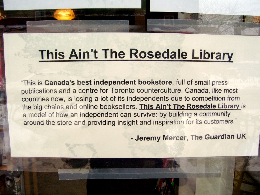 This Ain't the Rosedale Library