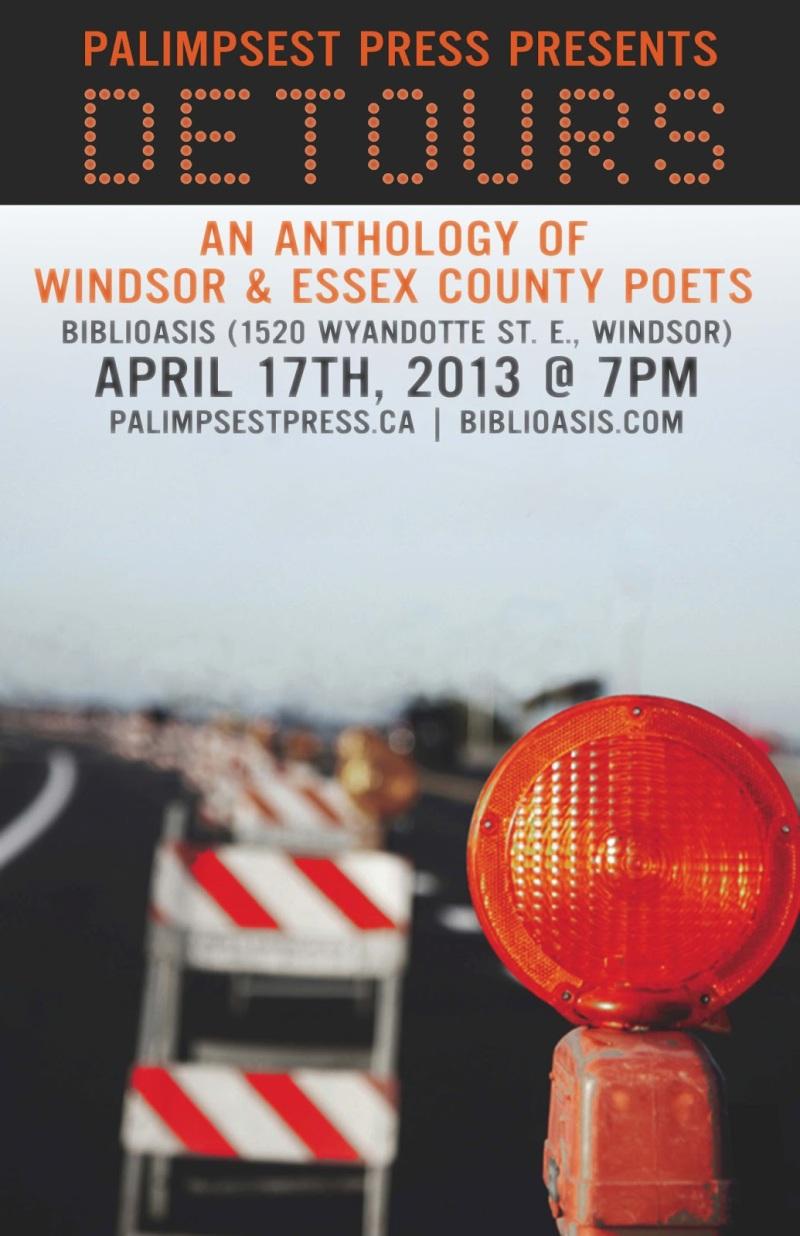 Detours: An Anthology of Windsor & Essex County Poets